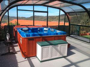 Casa de alojamiento rural en madrid con piscina spa con piscina y jacuzzi - Alojamiento rural con piscina ...